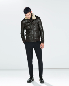 faux leatherjacket