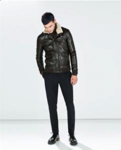 faux leatherjacket