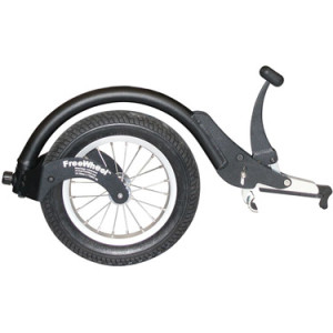 FreeWheel - for winter in a wheelchair